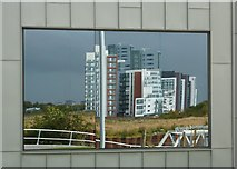 NS5565 : Flats reflections by Peter Barr