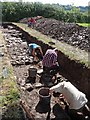 ST3390 : Archaeological excavations, Caerleon [5] by Robin Drayton