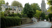 SK2168 : Road into Bakewell from Monyash by Andrew Hill