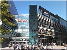 TQ3884 : Sculpture in Westfield Stratford City by Robert Lamb