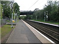 NS4672 : Kilpatrick railway station, looking South-East by Andrew Reid
