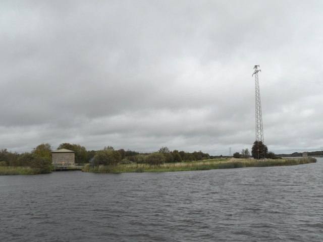 Pumping Station and Pylon, Cappagh, Co. Galway
