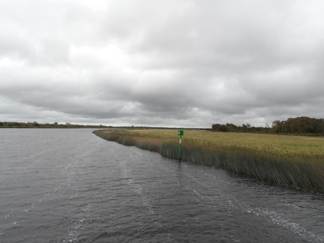 Shannon Navigation Marker, The Callows, Co. Offaly