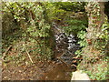 SO3205 : Brook viewed from Capel Ed Lane north of Penperlleni by Jaggery