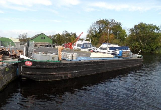 45M Barge at Portumna Bridge, Co. Galway
