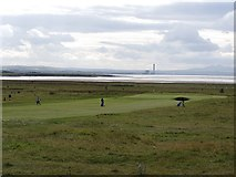 NT4681 : Golf course, Gullane by Richard Webb