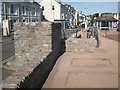 SX9372 : Wall, steps and promenade by Marine Parade  by Robin Stott