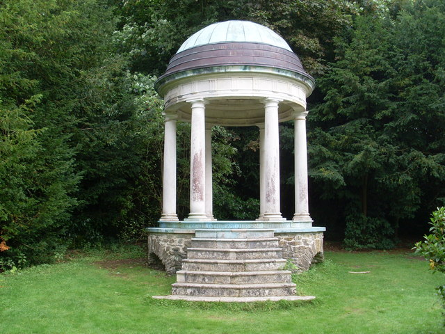 The Temple at Hatchlands Park