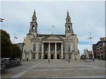 SE2934 : Leeds Civic Hall by Richard Croft