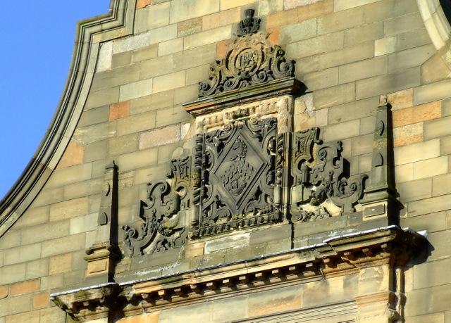 Pearce Institute detail