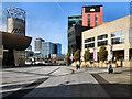 SJ8097 : Lowry Square, Salford Quays by David Dixon