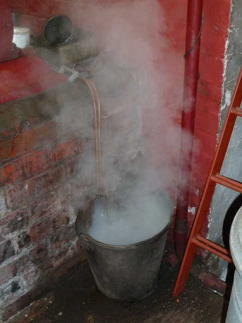 A bucket of steam! - Claymills Victorian Pumping Station