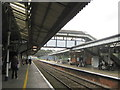 SW8144 : Truro Station and Footbridge by Roy Hughes