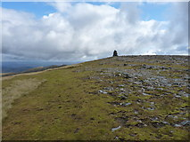 NH1718 : Very nearly at the top of Aonach Shasuinn by Richard Law