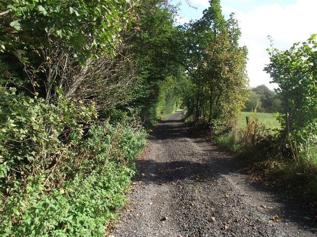Track leading to Smithills Dean Road