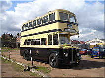 SO8376 : Ex-BCT Double Decker at Kidderminster  by Rob Newman