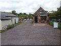 ST1139 : Village Hall and shop, Bicknoller by Oliver Dixon