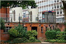 TQ3265 : Two Loos, Croydon by Peter Trimming