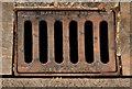 """J3474 : """"Marshalls"""" grating cover, Belfast by Albert Bridge"""