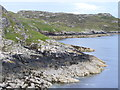NB4124 : Shore at  Cuidhir by Colin Smith
