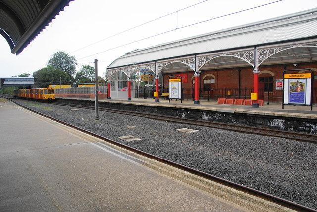 Monkseaton Metro Station