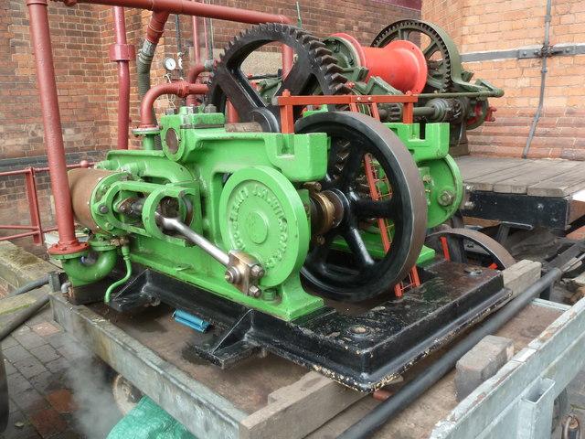 Claymills Victorian Pumping Station - steam winch