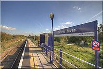 TA0623 : Barrow Haven Train Station by JOHN BLAKESTON