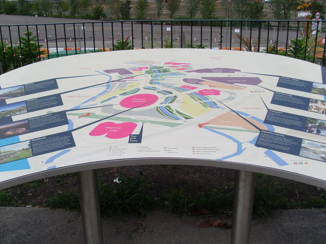 Information Board facing the Olympic Park (2)
