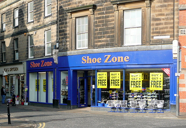 Shoe Zone Buy One Get One Free 169 Graham Horn Geograph Britain And Ireland