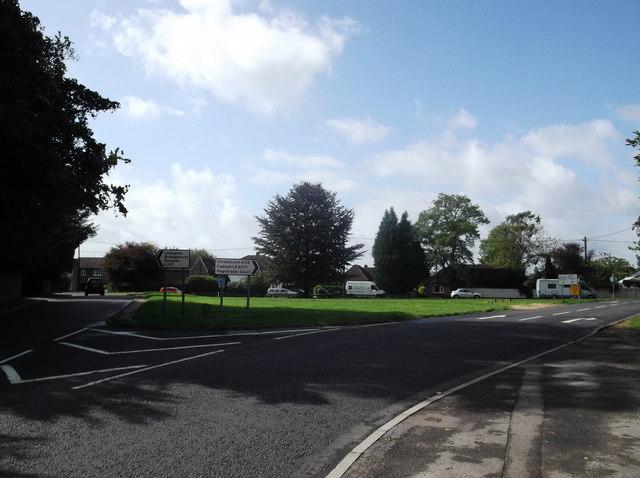 Road junction in Lymington