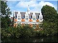 TQ2482 : Queens Park Public Library, Harrow Road by Rod Allday
