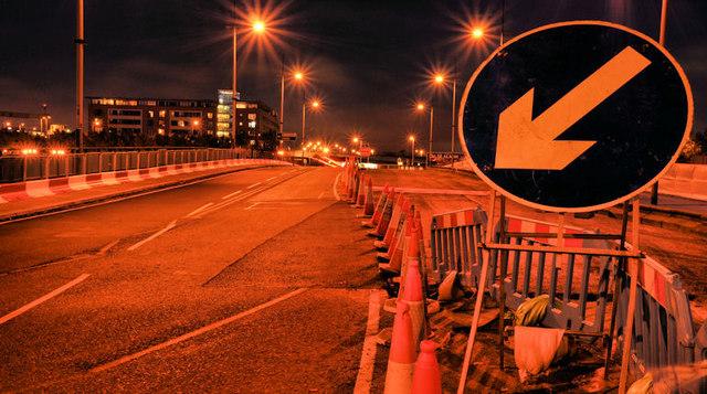 Repairs, Queen Elizabeth Bridge, Belfast (3)
