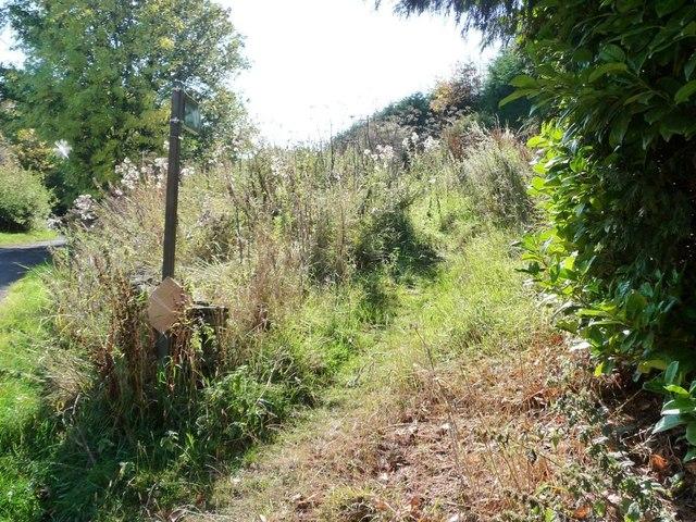 Footpath towards Penistone