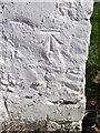 NT6863 : Bench Mark, St Agnes by Maigheach-gheal