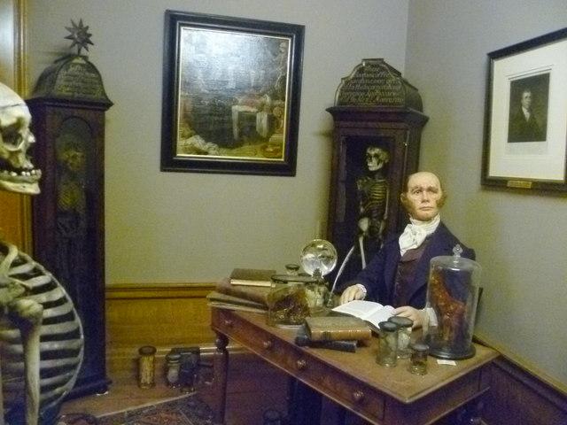 Robert Knox tableau, Royal College of Surgeons' Museum