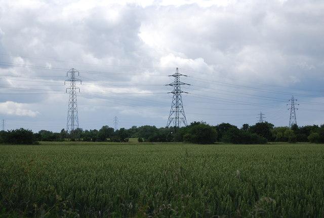 Pylons by Sunning Lane