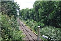 TQ5885 : Upminster to Grays branch line by N Chadwick