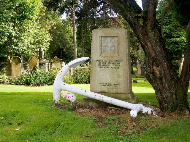 Burial plot for the Mariners' Home