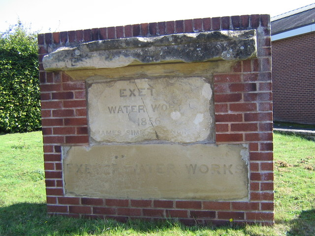 Exeter Water Works 1856