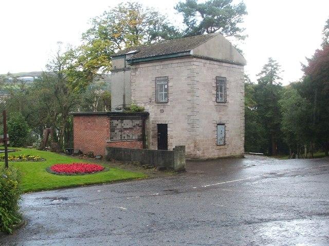 The Ivy House, Greenock Cemetery