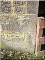 NO1943 : Bench Mark, Rosemount by Maigheach-gheal