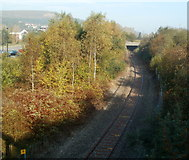 SO1707 : Buffers at the end of the line, Ebbw Vale by Jaggery