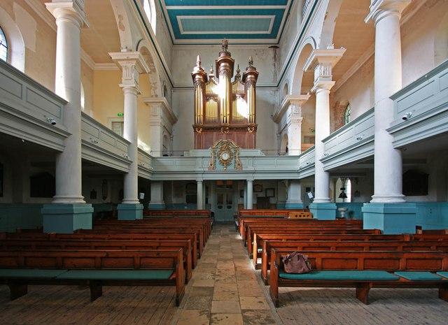 St Leonard, Shoreditch High Street, Shoreditch - West end