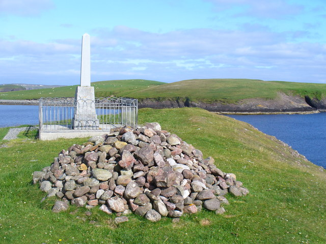 Iolaire Memorial Stone and Cairn