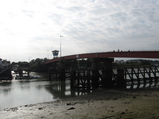 Footbridge over the River Arun at Littlehampton