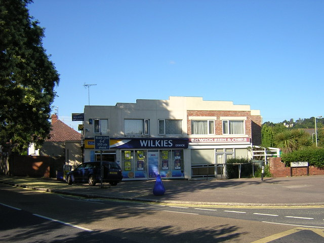 Two shops in Exwick Villas