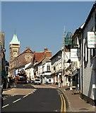 SO3014 : Cross Street, Abergavenny by Derek Harper