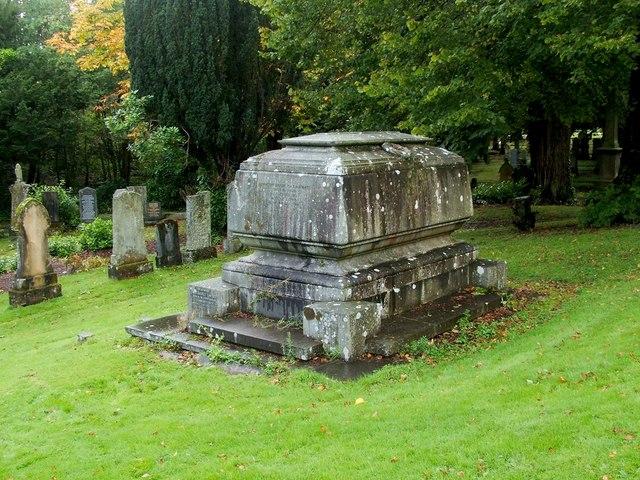 Memorial to Sir Duncan Carmichael