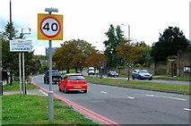 TQ1979 : North Circular Road by Thomas Nugent