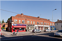 SU3521 : Row of shops, Winchester Road by Peter Facey